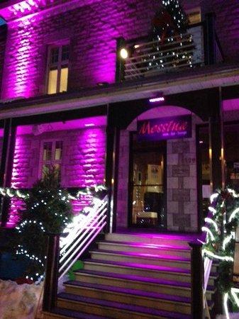 Messina : vue extérieur du restaurant