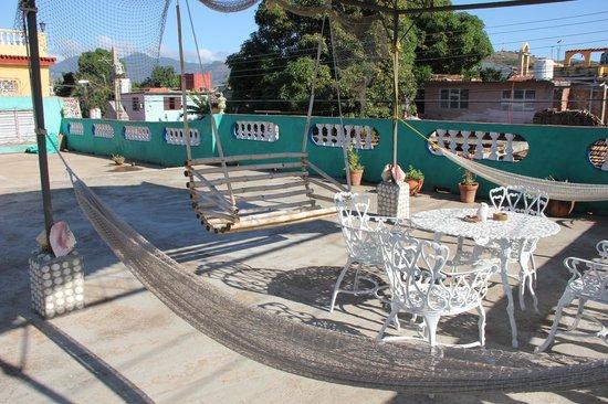 Hostal Zamora: terrace