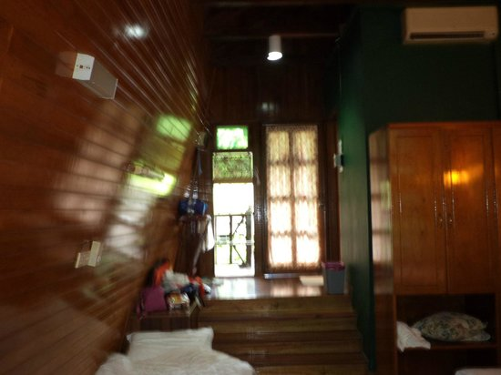 Tabin Wildlife Resort: interno camera
