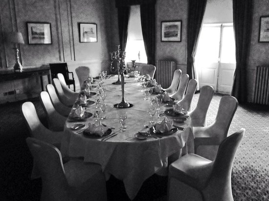 Crathorne Hall Hotel: Why not try a birthday party private dinner