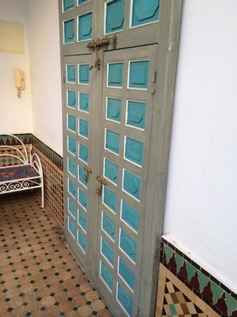 Riad Zinoun: The door to our second room