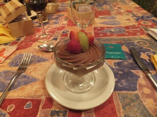 Chez Ignace: La mousse au chocolat, un vraie délice