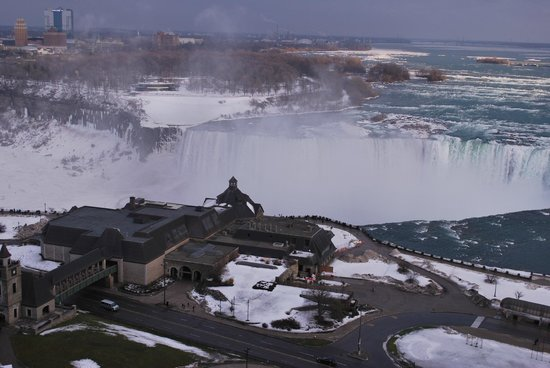 Niagara Falls Marriott Fallsview Hotel & Spa : Room view