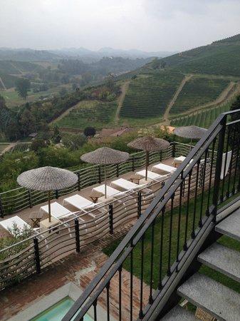 Villa Tiboldi: Aussicht von der Aussenterrasse