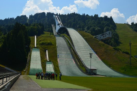 Olympiaschanze: Олимпийский трамплин