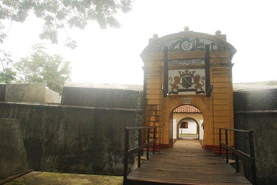 Star Fort: Main Entrance