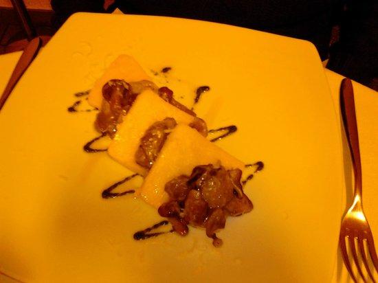 Ristorante Il Doc: polenta e porcini