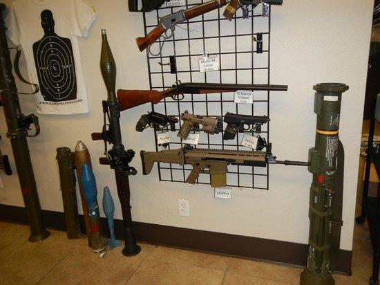 Battlefield Vegas: Huge range of firearms to try