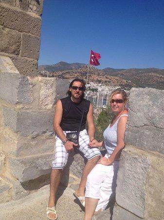 Castle of St. Peter : С мужем