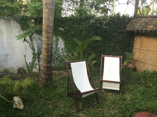 Les 3 Elephants Cherai Beach : room garden