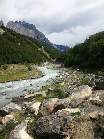 Chileno - Refugio & Camping: El entorno
