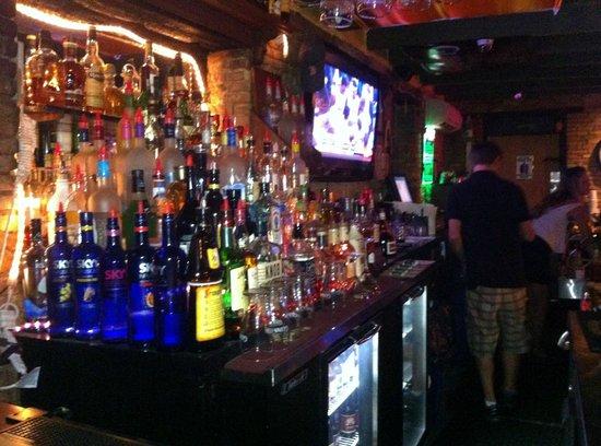 Tavern 1844: A pretty stocked bar; a few flat screens