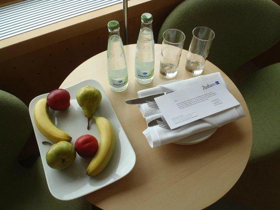 Radisson Blu Royal Hotel Copenhagen: Complimentary fruit