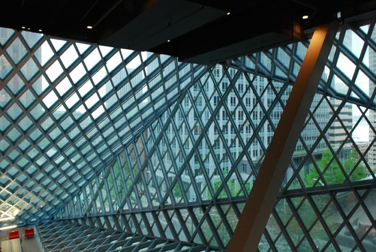 Seattle Public Library 3, photo by Mike Keenan