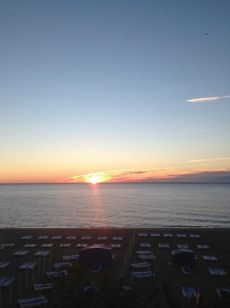 Hotel Mediterráneo Carihuela: View from the balcony