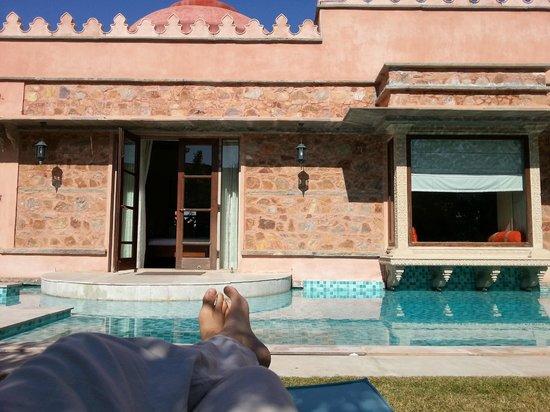 Tree of Life Resort & Spa Jaipur : pool villa