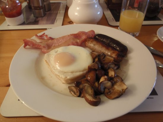 Union Place : lovely breakfast
