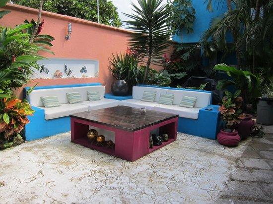 Villas Las Anclas : lounge area