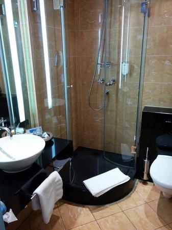 Savoy Hotel: Badezimmer.