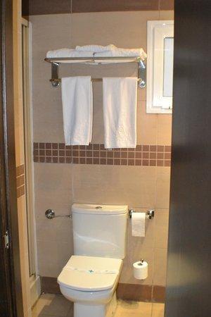 Hotel Maza: toallas
