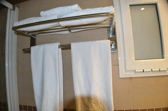Hotel Boutique Maza: toallas