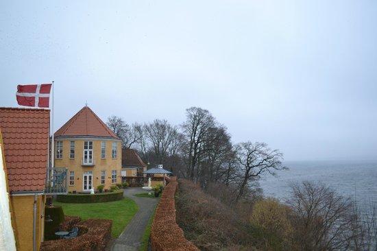 Hotel Fakkelgaarden : Billede af hotellets hovedbygning