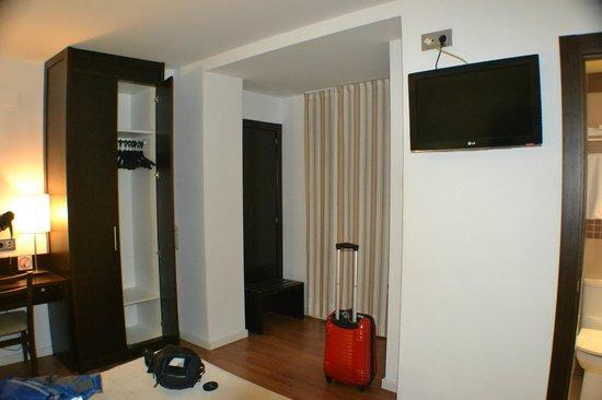 Hotel Maza: detalle del cuarto