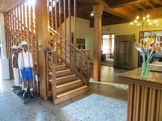 Graskop Hotel: Hall d'entrée
