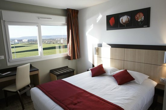 Akena City Reims Bezannes : Chambre double
