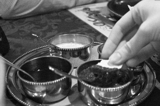 Khajuraho: Бесплатные кукурузные чипсы - комплимент от ресторана