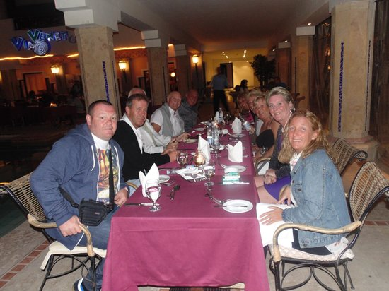 Sharm Plaza Hotel: last night with friends  made