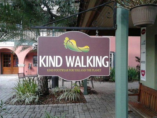 Kind Walking: Store Sign