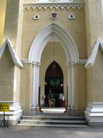 St. John's Cathedral: Front of the church