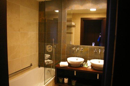 Hotel Mas Solà: Ducha