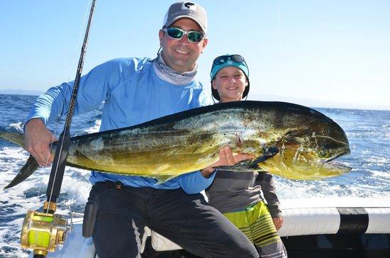 Wetass II Sportfishing : shawn first mahi