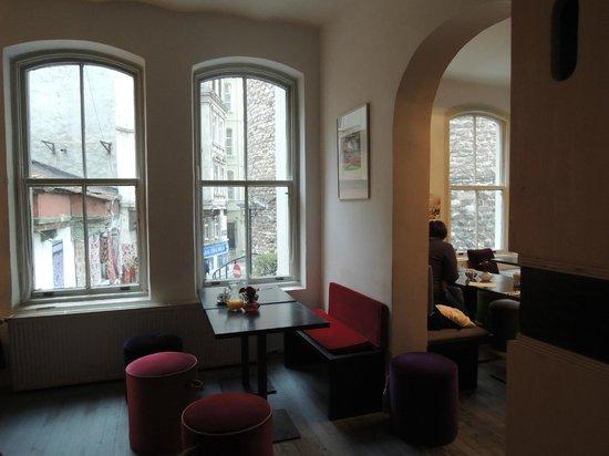 Manzara Istanbul: Das Manzara-Café am Galataturm