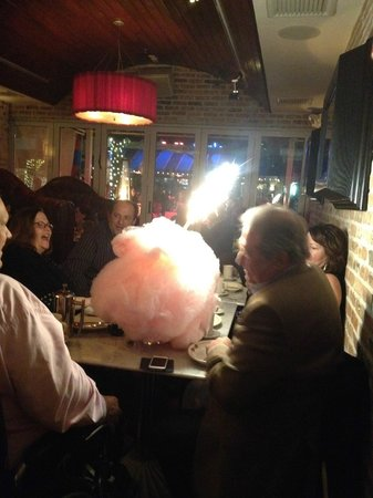 Vic & Angelo's Delray Beach: Cotton Candy bomb!
