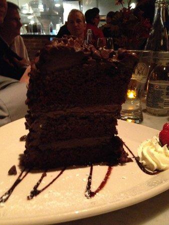 Vic & Angelo's Delray Beach: Giant Chocolate Cake