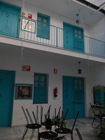 Casual Sevilla de las Letras : dal cortile