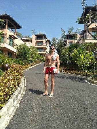 The Westin Siray Bay Resort & Spa Phuket: Steep walk up to some of the rooms - beware