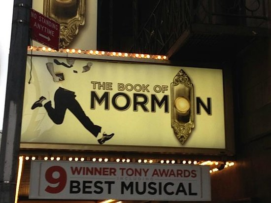 The Book of Mormon: Great Show!