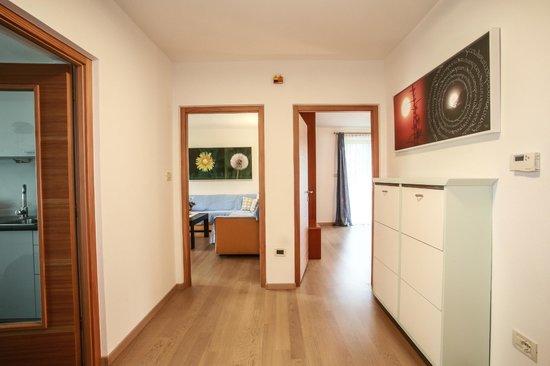 Ferienwohnungen Grazia-Dei: entrata appartamento