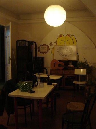 Itinere Hostel : Sala de estar piso 2