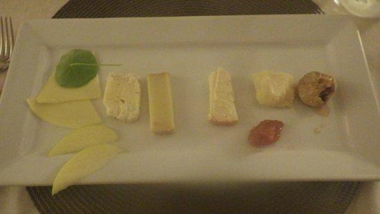 La Sosta Restaurant: The Cheese Board Dessert