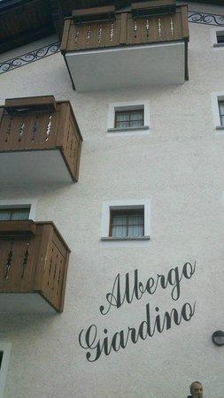 Albergo Giardino: facciata hotel