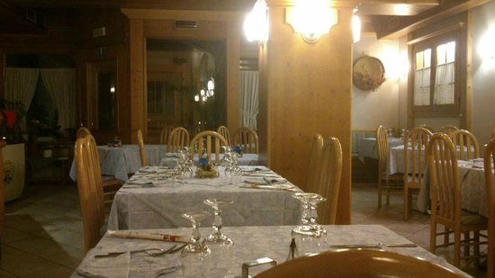Albergo Giardino: sala da pranzo