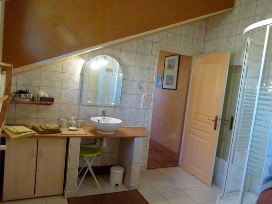 Baudelys : Salle de bain de la chambre DOUGLAS