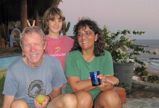 La Loma Linda: Bungalows, Yoga and Feldenkrais : Dieter, Diego & Katja