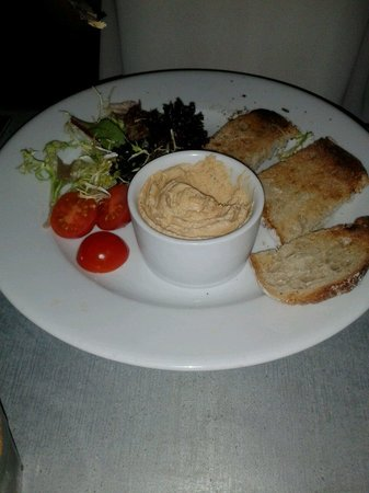 Dylan's: Tasty fish pate