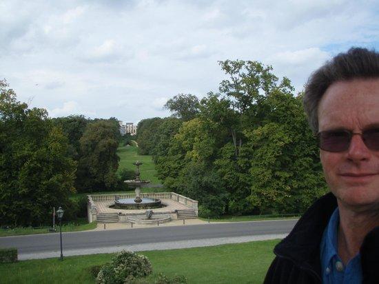 Schloss Sanssouci: The view